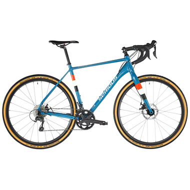 Bicicletta da Gravel SERIOUS GRAFIX Shimano Tiagra 30/46 Blu 2020